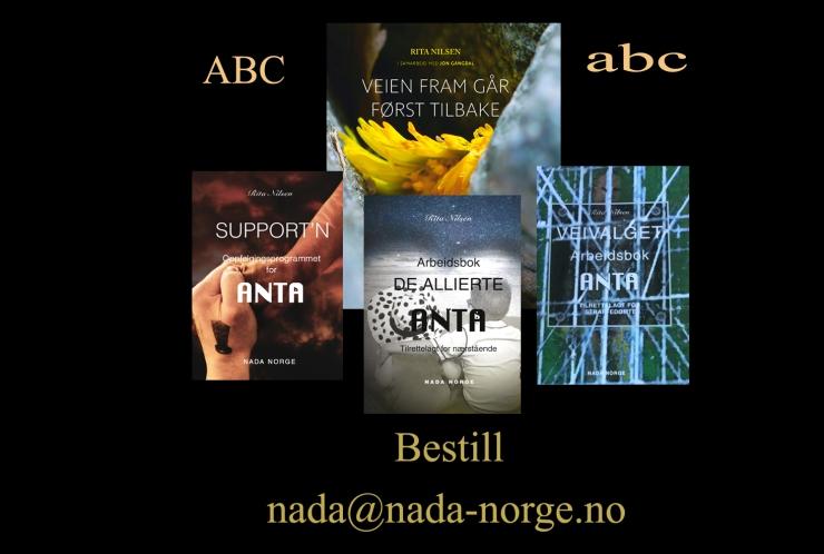 Bilde over bøkene for salg